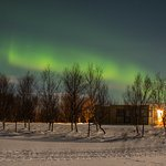 Leirubakki is a great place to see and photograph the Nortern lights