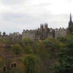Gardens & Edinburgh Skyline