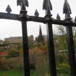 Scott Monument overlooks the Gardens