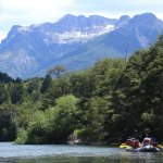 Rafting río Manso inferior