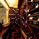 The unique wine cellar