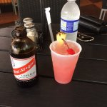 Red Stripe and Rum Punch