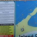 Information board about Inland Sea