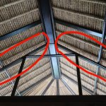 Gap between room and roof- letting geckos and mice get in