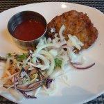 Onion bhaji starter