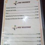 Ảnh về restaurant Les Delices