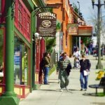 Shop, dine, hike, walk or cycle Fairhaven's got it all