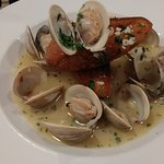 Clams in White Wine Appetizer