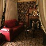 Hyggelig stue på værelset