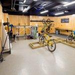 Ski and Bike Storage