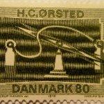 H. C. Ørsted på frimærke, 1970