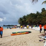 The gentlemen in the orange are the ones to ask to go snorkeling! Amazing!!