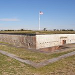 Fort Macon guarded Beaufort Inlet in the years leading up to the American Civil War.