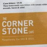 Фотография The Corner Stone Cafe