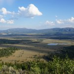 view of Jackson Hole valley
