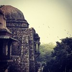 Sumptuous architecture awaits your camera angles at Hauz Khas. Late afte