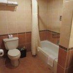 Bathroom in room 1112.