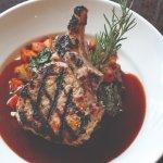 Maple Bourbon Pork Chop