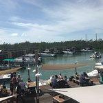 Foto de Hurricane Hole Restaurant & Marina