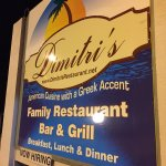 Great food at Dimitri's tonight!
