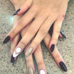 Gel nails for any occasion.