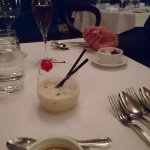 complimentary 'pre dessert' delicious