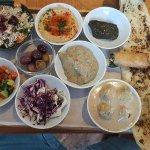 Israeli Sample Platter