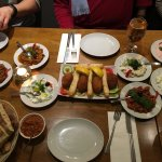 Hot and Cold Mezze from set menu