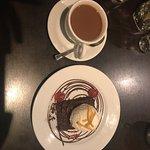 Chocolate Brownie and Coffee