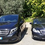 Our new Mercedes V and our Mercedes Sedan for your tours perfectly comfortable.