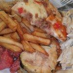 Un petit assortiment de ce que vous pouvez manger: Produits gras et/ou surgelés