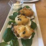 tempura oysters