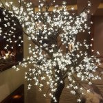 Nice decorative crystal tree at the reception