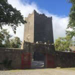 Exterior view; shell of the castle is a mix of original and reconstructed material.