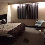 Very poor decor, no bedside lighting, no heating, in need of refurbishment