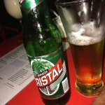 ...a local Cuban beer