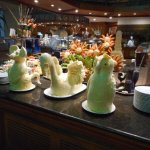 Butter creations at the buffet