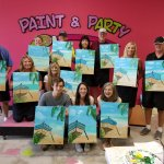 Great memories made at Paint & Party!
