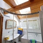 Sky Window for beautiful sunny ( double ) shower or bath