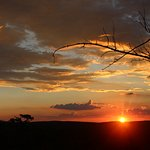 Magical sunsets while stopping for a sundowner
