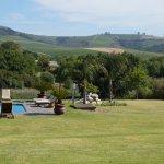 Blick vom Pool der Cultivar Guest Lodge