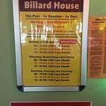 Foto van Billard House