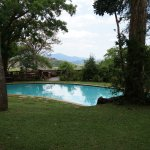 Pool der Phophonyane Eco Lodge