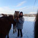 Leslie & her mare