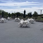 Outdoor Terrace - Food/Beverage service. Ceremony/Event Space.