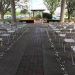 Carport Ceremony