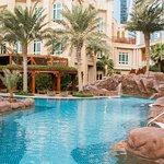 Four Seasons Doha pool area
