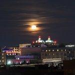 Moonrise over Savannah
