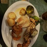 Broiled Shrimp, Lobster, Mahi Mahi, and Scallops