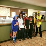 Our team...on Halloween :)